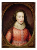 Portrait of a Woman, Traditionally Identified as the Countess of Arundel, 1619 (Oil on Panel) Giclee Print by Cornelius Janssen van Ceulen