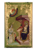 The Annunciation (Tempera and Gold on Panel) Giclee Print by Simone Dei Crocifissi