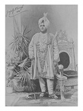 Jagatjit Singh of Kapurthala, 1891 (Engraving) Giclee Print by  English Photographer