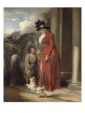 The Squire's Door, c.1790 Giclee Print by George Morland