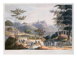 Pena Macor, Engraved by C. Turner, 18th March 1811 (Colour Litho) Giclee Print by Thomas Staunton St. Clair