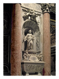 Sepulchre of Matilda the Great Countess (1046-1115), 1633 (Marble) Giclee Print by Giovanni Lorenzo Bernini