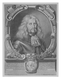 Ludwig Vi, Landgrave of Hesse-Darmstadt, Engraved by Bartholomaus Kilian Ii, 1678 (Engraving) Giclee Print by Johann Georg Wagner