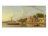 The Thames at Twickenham, c.1760 Giclee Print by Samuel Scott