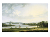 A View of Knock Ninney and Part of Lough Erne from Bellisle, County Fermanagh, 1771 Giclee Print by Thomas Roberts
