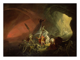 Aeneas and the Sibyl, c.1800 Giclee Print by  English