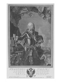 Francis I, Holy Roman Emperor, Engraved by Philipp Andreas Kilian (Engraving) Giclee Print by Martin II Mytens or Meytens
