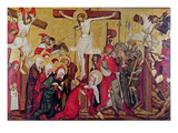 Rajhrad Altarpiece, C.1420 (Tempera on Panel) Giclee Print by  Master of Raigern