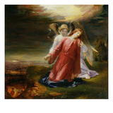 The Agony in the Garden, 1858 (Oil on Panel) Giclee Print by George Richmond