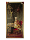 Francis I Holy Roman Emperor (1708-65) Husband of Empress Maria Theresa Austria (1717-80) Giclee Print by Pompeo Batoni