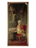 Francis I Holy Roman Emperor (1708-65) Husband of Empress Maria Theresa Austria (1717-80) Giclee Print by Pompeo Girolamo Batoni
