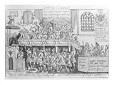 Oratory Chappel, C.1746 (Etching) Giclee Print by William Hogarth