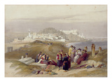 Jaffa, Ancient Joppa, April 16th 1839, Plate 61 from Volume II of 'The Holy Land' Giclee Print by David Roberts