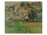 The Hermitage at Pontoise, 1884 Giclee Print by Paul Cézanne