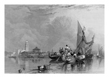 Murano, Engraved by Robert Wallis, 1836 (Engraving) Giclee Print by William Clarkson Stanfield