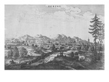 Peking, an Illustration from Jan Nieuhof&#39;s &#39;An Embassy to China&#39;, Published 1665 (Engraving) Giclee Print by John Ogilby