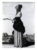 Summer, 1644 (Etching) Lmina gicle por Wenceslaus Hollar