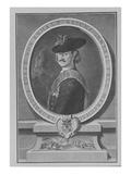 Leopold I, Prince of Anhalt-Dessau (Engraving) Giclee Print by Antoine Pesne