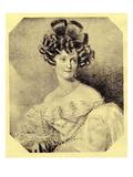 Princess Carolyne Zu Sayn-Wittgenstein, C.1840 (Litho) Giclee Print by  Russian