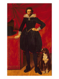 Portrait of the Duke of Chevreuse Giclee Print by Frans II Pourbus