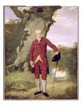 Mr Thrale, C.1770-80 (Oil on Canvas) Reproduction procédé giclée par Francis Wheatley