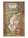 St. Luke the Evangelist (Mosaic) Giclee Print by  Byzantine