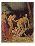 The Walk to Death (Oil on Panel) Giclee Print by Hans Baldung Grien