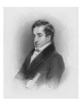 John Cam Hobhouse, C.1821 (Engraving) Giclee Print by Abraham Wivell