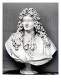 Bust of Jules Hardouin Mansart (1646-1708) 1698 (Marble) (B/W Photo) Giclee Print by Antoine Coysevox