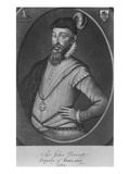 Sir John Perrot, Engraved by Valentine Green, 1776 (Mezzotint) Giclee Print by George Powle