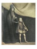 The Empress Maria and Philip Iii (1578-1621) 1583 Giclee Print by Blas del Prado