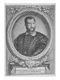 Cosimo I De'Medici, Grand Duke of Tuscany (Engraving) Giclee Print by Adrian Haelwegh