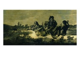 The Fates, 1819-23 (Oil on Canvas) Giclee Print by Francisco Jose de Goya y Lucientes