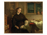 Home Dreams, 1869 Giclee Print by Charles West Cope