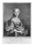 Mademoiselle Marie Salle as the French Terpsichore, Engraved by Petit Giclee Print by Jean Cesar Fenouil