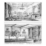 Interior of Toynbee Hall (Litho) Giclee Print by William H Atkin-Berry