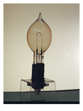 Early Light Bulb (Photo) Giclee Print by  English Photographer