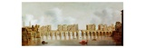 View of London Bridge, C.1632 (Oil on Panel) Giclee Print by Claude de Jongh