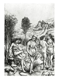 An Allegory of Envy, C.1515 (Engraving) Giclee Print by Cristofano Robetta