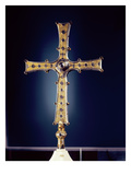 Cross of Cong, County Mayo, Viking Age (Bronze, Gold Filigree, Niello and Glass) Giclee Print by  Celtic