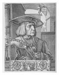 Emperor Maximilian I (Engraving) Giclee Print by Lucas van Leyden