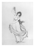The Muse of Dance, Plate VI Giclee Print by Frederich Rehberg
