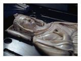 Effigy of Isabel of Aragon (1243-71) (Mrable) Giclee Print by Jean D'arras