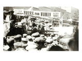 Votes for Women, August 1908 (B/W Photo) Giclee Print by  English Photographer