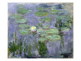 Waterlilies, 1915 (Oil on Canvas) Reproduction proc&#233;d&#233; gicl&#233;e par Claude Monet