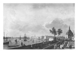 View of the Port of Bordeaux Seen from Chateau Trompette, 1759 Giclee Print by Claude Joseph Vernet