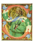 Historiated Initial 's' Depicting St. Paul (Vellum) Giclee Print by  Master of San Michele of Murano