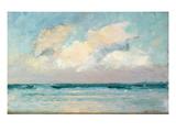 Sea Study - Morning (Oil on Panel) Premium Giclee Print by Adrian Scott Stokes