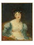 Young Lady Seated (Oil on Canvas) Giclee Print by Sir Thomas Lawrence
