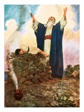 Abraham Offering Up Isaac Giclee Print by William Hatherell